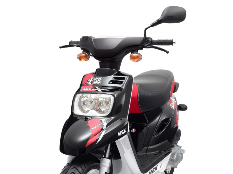 scooter neuf mbk booster spirit 12 pouces 50cc vente scooter la seyne sur mer toulon l. Black Bedroom Furniture Sets. Home Design Ideas