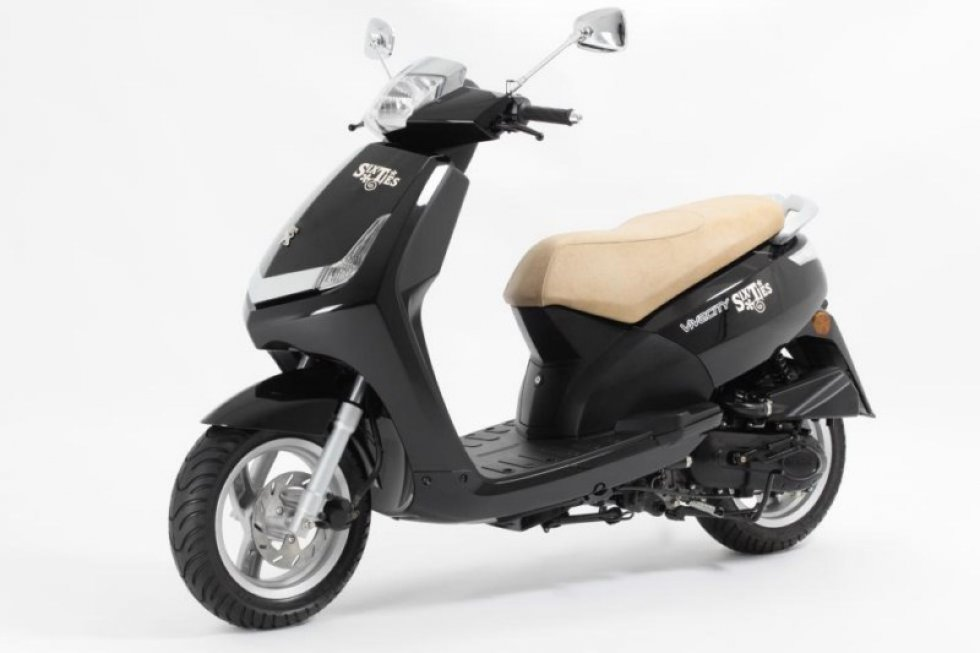scooter neuf peugeot vivacity sixties 50cc vente. Black Bedroom Furniture Sets. Home Design Ideas