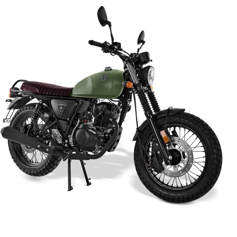 moto neuve archive motorcycle scrambler am 64 125cc. Black Bedroom Furniture Sets. Home Design Ideas