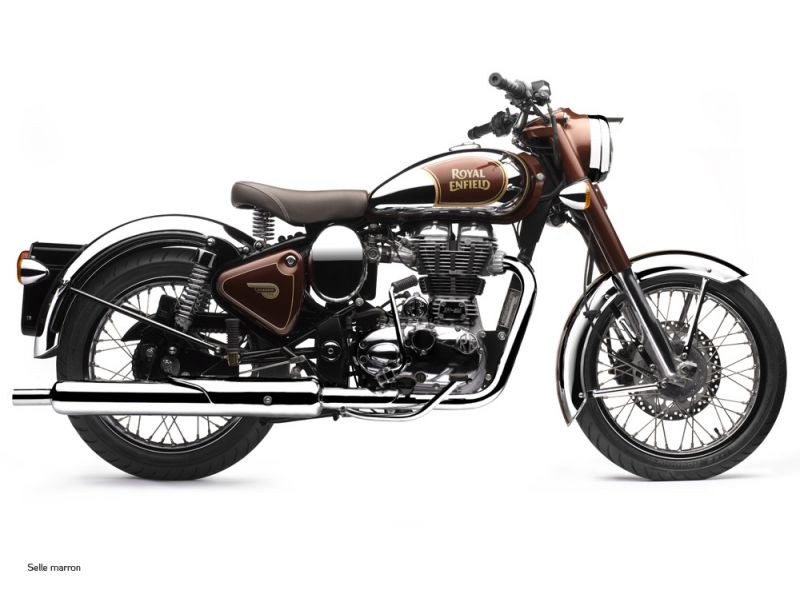 moto neuve royal enfield classic chrome 500cc vente. Black Bedroom Furniture Sets. Home Design Ideas