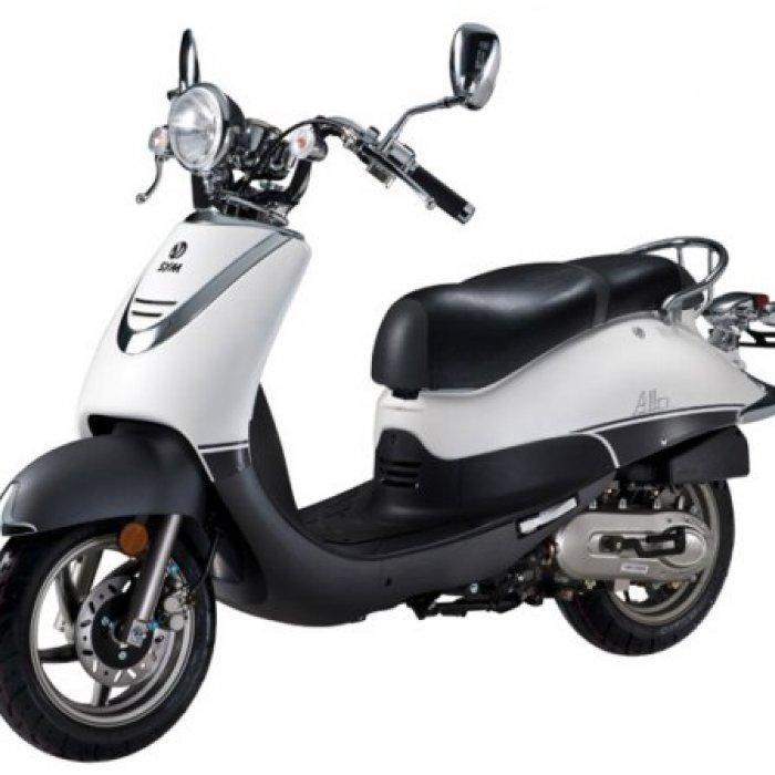 scooter neuf sym allo 125cc vente scooter la seyne sur mer toulon l 39 atelier du scoot. Black Bedroom Furniture Sets. Home Design Ideas